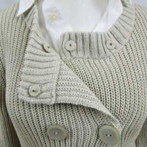 ❣️2/$40 Talbots Cable Knit Sweater Women Sz S